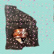 Solid Copper & Brass  Meditation Spinner Ring Jewelry All Size Handmade US-311