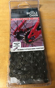 """BELL 300 LINKS BICYCLE CHAIN FOR SINGLE OR 3-SPEED BICYCLE 1/2"""" X 1/8"""" NEW"""