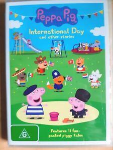 Peppa Pig - International Day [ DVD ] Region 4, BRAND NEW & SEALED, Free Post