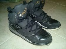 AIR JORDAN FLIGHT 45 HIGH GG BLACK SIZE UK 5.5 EURO 38.5