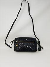 Coach Sequin Signature Crossbody Handbag  Black