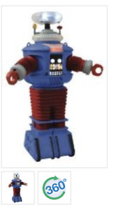 Lost In Space B9 Retro Style Remco Colors Electronic Robot Figure DST