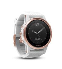 Garmin Fenix 5S Multisport GPS Watch, One Size - White/Rose Gold