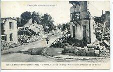 CP 02 AISNE - Trosly-Loire - Ruines du Carrefour de la Route