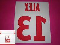 Flocage officiel PSG Paris ALEX 2012 14 domicile