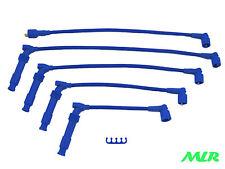 Astra 16 V Cavalier Calibra Turbo Bleu 10 mm 4 core Allumage Ht Leads Wires Mlr. cr