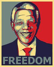 Nelson Mandela Freedom art print