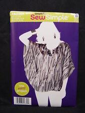NEW Simplicity Sew Simple A1639 Shirt Top Pattern Sz 6 8 10 12 14 16 18 ~ 1639
