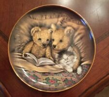 "Vintage ""Bedtime Story� Limited Edition Fine Porcelain 8� Plate By Sue Willis"