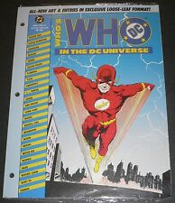 Who's Who in the DC Universe 48 Page Loose Leaf #2 Sep 1990 VFNM Flash - Starman