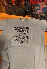 Vintage Masters Mates & Pilots 50/50% Cotton/Poly Blue Color T Shirt. Size Xl