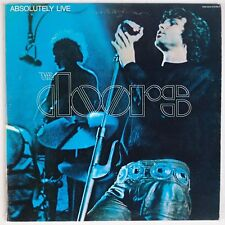 THE DOORS: Absolutely Live USA Elektra Butterfly 2x LP Jim Morrison ROCK