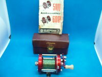 Vintage ABU of Sweden, Ambassadeur 6000, Multiplying Spinning Reel. Cased