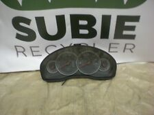 2006 SUBARU OUTBACK INSTRUMENT GAUGE CLUSTER SPEEDOMETER A/T 3.0L P/N 85014AG17A