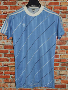 Soccer Jersey Streetwear Vintage adidas Made IN West Germany (303) 80'S