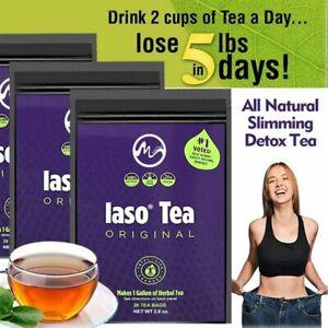 TLC LASO INSTANT DETOX TEA & Iaso Instant Tea - 90 Sachets - NEW SEALED PACKETS