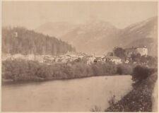 Groß-Foto Golling a. d. Salzach Burg Land Salzburg Hallein 26 x 18,5cm um 1880
