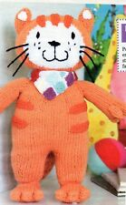 ~ Knitting Pattern For Adorable Poppy The Cat Toy ~