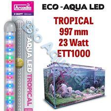 Arcadia Eco Aqua Tira de Luz LED de Acuario Lámpara/- tropical 997mm 23w ETT1000