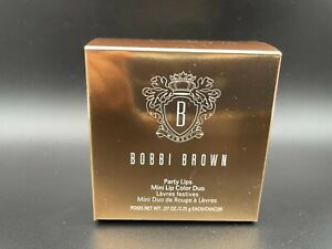 Bobbi Brown Party Lips Mini Lip Color Duo 0.07oz/each~Choose Your Shade