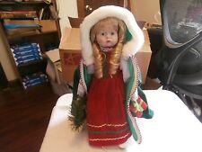 "Seymour Mann Victorian Porcelain Doll 13 "" Christmas "" Christie """