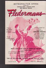 Fledermaus Metropolitan Opera Ad Bill Eastman Theatre Rochester NY