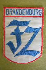 DDR Stoffabzeichen - Brandenburg FZ - Feliks Dzierzynski