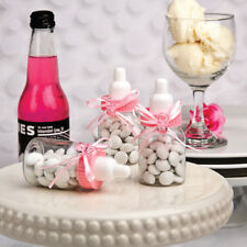 Perfectly Plain Collection Pink Baby Bottle Favours