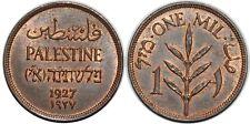 PALESTINE 1 MIL 1927 KM#1 UNC!!!