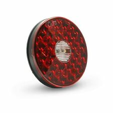"GROTE 55162 - 4"" Round LED Stop Tail Turn Light with Integrated Backup, Integrat"
