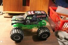 Hot Wheels Monster Jam Grave Digger Die-Cast Truck 1/24 Scale Mattel Hot Wheels