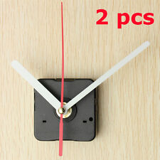 2pcs Quartz Clock Wall Movement Mechanism Hands DIY Repair Parts Kit