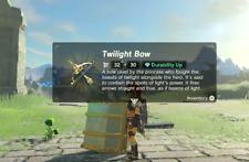Zelda SSB Twilight Bow Amiibo Coin Amiiqo BOTW - NOT Figurine/statue
