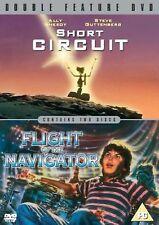 Short Circuit/Flight Of The Navigator Ally Sheedy, Steve Guttenberg, DVD 1987