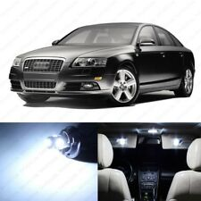 18 x White LED Interior Light Package For 2005 - 2011 Audi A6 S6 C6 + PRY TOOL