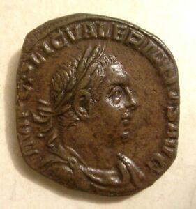 VALERIAN I AE SESTERTIUS SESTERCE COIN ROMAN