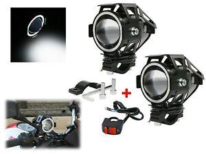 FARETTI a LED MOTO SUPPLEMENTARI 12V 24V 30W HONDA X-ADV CRE 1000 L AFRICA TWIN