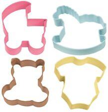Set 4 Tagliapasta Baby per biscotti nascita Wilton
