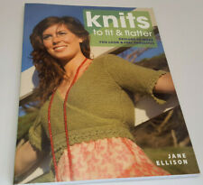 New listing Jane Ellison: Knits to Fit & Flatter - Designs to Make You Look & Feel Fabulous