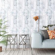 6m Rustic Wood Panel Effect Self Adhesive Wallpaper Furniture Wall Stickers