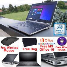 Fast Laptop Dell Latitude Intel  core i5  8GB 1000GB Windows 10 pro