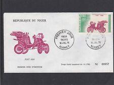 Niger 1975 330 FDC Automobiles Vieux tacots Fiat 1899