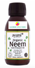 AYUMI ORGANIC NEEM OIL - COLD PRESSED OIL / LIMDA OIL -  FOR SKIN & HAIR - 100ml