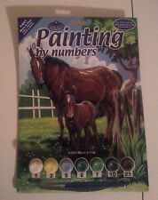 royal langnickel painting by numbers PJS21 mare & foal