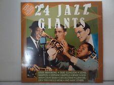 "Various–24 Jazz Giants (2 x Vinyl 12"" LP Compilation)"