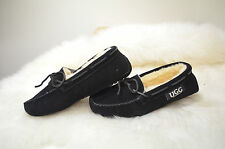 439.NEW! Moccasin slipper black aus 10 OZrock