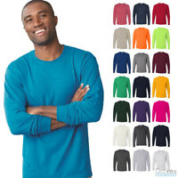 Jerzees Men's Dri-Power Active Long Sleeve Tee 50/50 Plain T-Shirt 29LSR NEW