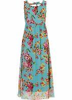 Damen Edles Kleid mit raffiniertem Rückenausschnitt Größe 34 NEU