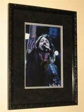 "FOO FIGHTERS - SIGNED & CUSTOM FRAMED 8"" X 12"" COLOUR PHOTO - DAVE GROHL"