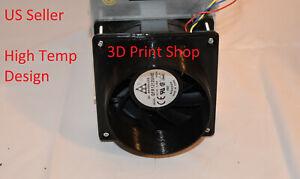 """10x Antminer T9 S1 S3 S5 S7 S9 A3 D3 L3 V9  4"""" 120mm High Temp Fan Duct Shroud"""